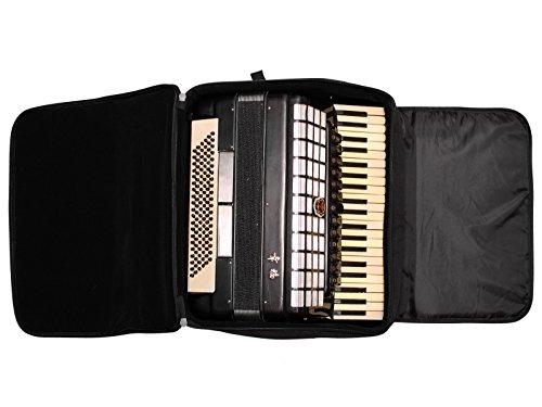 MUSIC FIRST original design Piano Accordion case / Accordion bag / Accordion gig bag (96~120 Bass, Basic Model)