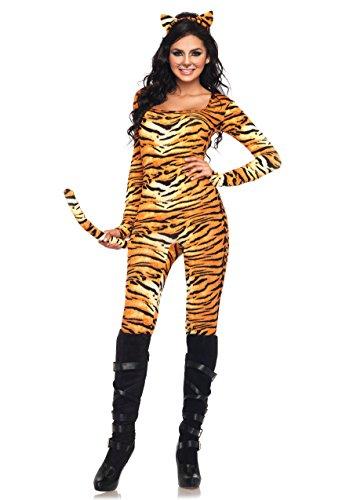 LEG AVENUE 83895 - Wild Tigress Kostüm Set, 2-teilig, Größe XL, (Wild Tigress Kostüm)