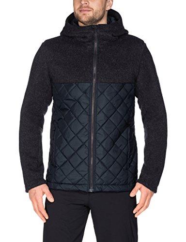 VAUDE Herren softshelljacke Godhavn Padded Jacket Phantom Black