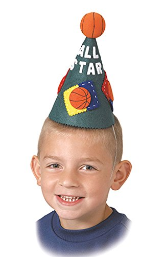 All Stars Basketball Fancy Party Hat–Single