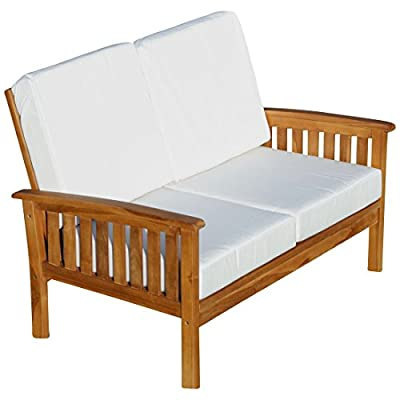 ASS Teak Sofabank Bank Lounge Modell: Punta Cana von von AS-S auf Gartenmöbel von Du und Dein Garten
