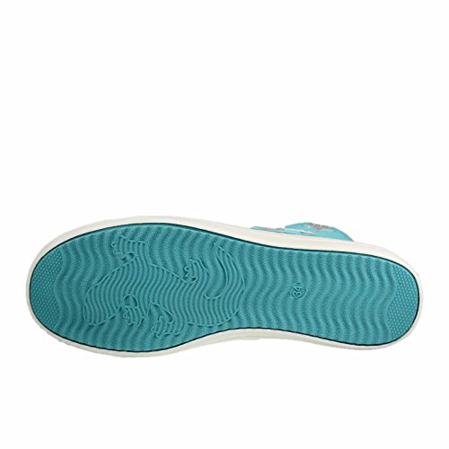 Lurchi 33-13791-29 Starlet, Sneaker bambine Petrolio Turchese
