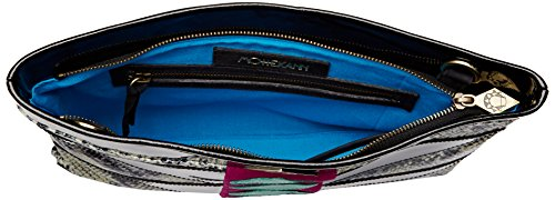Mohekann Damen XL Navajo Handtasche, 8x25x35 cm Noir (Hypnotic)
