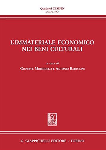 L'immateriale economico nei beni culturali