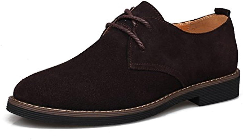 Zapatos Casuales Zapatos de Hombre Gamuza Primavera Verano Otoño Invierno Confort Cordones para Casual (Color...