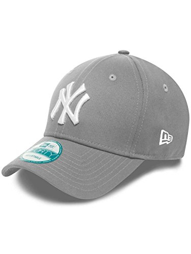 New Era Kappe Herren New York Yankees, Grau/Weiß , OSFA, 10531941 -