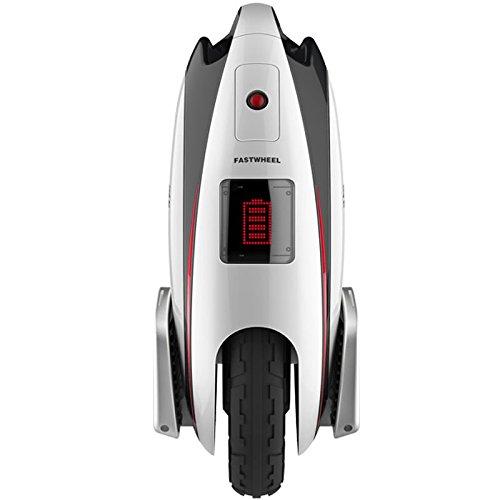Fastwheel eva 2 monociclo eléctrico 12″ 450W con Bluetooth color blanco