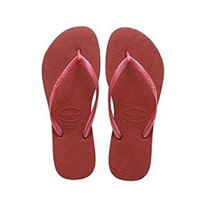 Havaianas Slim 4000030, Infradito Donna, Rosso (Guava Red), 43/44 EU