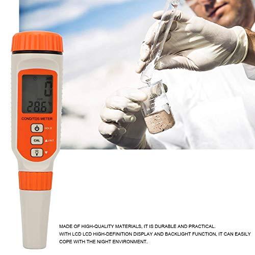 Hohe Genauigkeit Wasserprüfgerät,Wassertester SMART SENSOR AR8011 Wasserqualitätstester TDS Analysator Messgerät mit LCD Bildschirm für Industrie,Abwasser,Landwirtschaft,Medizin,Lebensmittel usw -