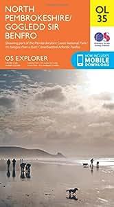 OS Explorer OL35 North Pembrokeshire (OS Explorer Map)