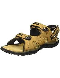 Woodland Men's Gd 2837118d_Camel Leather Outdoor Sandals-6 UK (40 EU) (7 US) 2837118DCAMEL