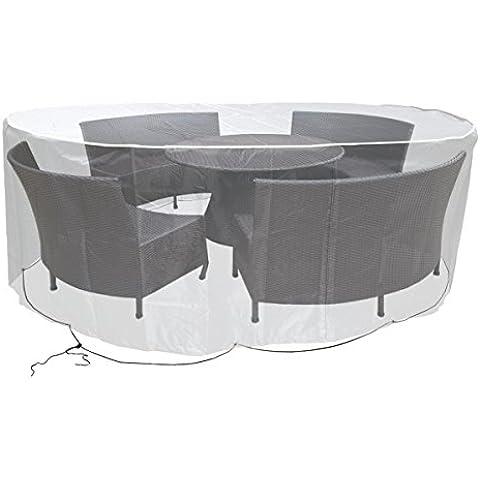 Grandes de muebles de jardín, Impermeable Carcasa 230cm ovalada transparente p de 572