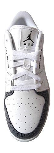 Herren Turnschuhe Nike Air Jordan 1 Flight Sneaker Schuhe 654465 white black cement grey 103