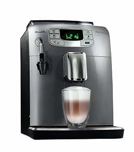 Saeco HD8752/95 Intelia Kaffeevollautomat (Dampfdüse) silber