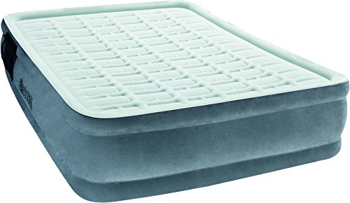 """Bestway Bestway 67560 - Airbed Comfort Cell Tech Premiere Plus Elevated Matrimoniale Cm. 203X152X43 Materasso, """"Comfort Cell Tech"""" Y-beam, Grigio"""