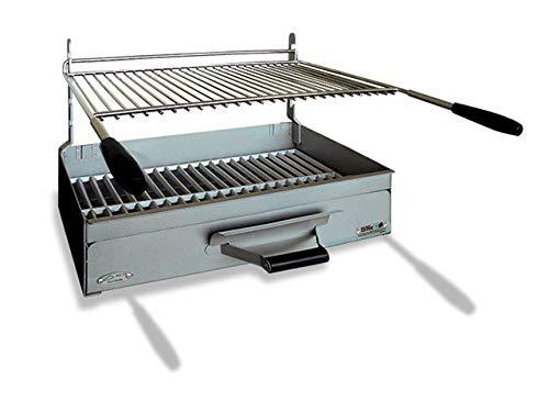 Barbecue à charbon de bois à poser en acier Arles