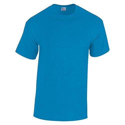 GILDAN -T-shirt  Uomo-Donna Blu - Antique Sapphire