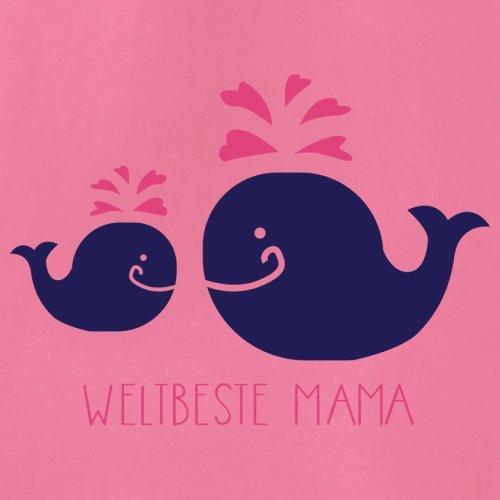 Weltbeste Mama - Damen T-Shirt mit Rundhalsausschnitt- 13 Farben Azalee