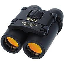 topop 8x 21Compact Fernglas faltbar Teleskop mit Reinigungstuch und Tragetasche für die Vogelbeobachtung, Reisen, im Freien, Sightseeing, Klettern