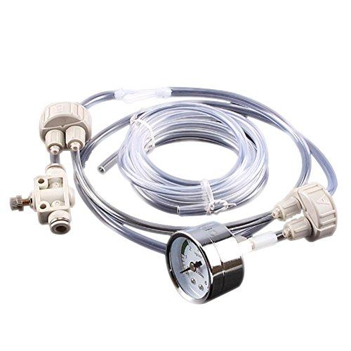 Hrph Aquarium-DIY CO2-Generator-System-Installationssatz mit Druck-Luftströmung Justage Wasser-Anlage-Fisch-Behälter Aquarium Co2 Ventil