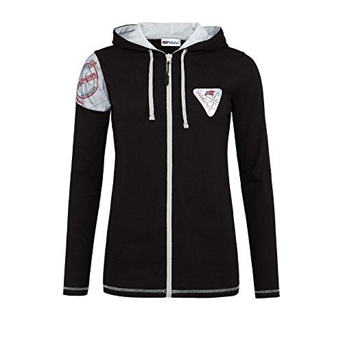 Nebulus - Sweat-shirt - À Capuche - Femme Noir