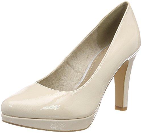 s.Oliver 22410, Zapatos de Tacón Para Mujer, Rosa (Nude Patent), 39 EU