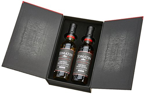 Tomatin Contrast Pack Single Malt Whisky (1 x 0.7 l)