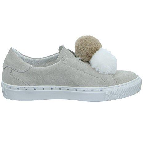 Tamaris Damen 23734 Sneaker Beige (Grau)