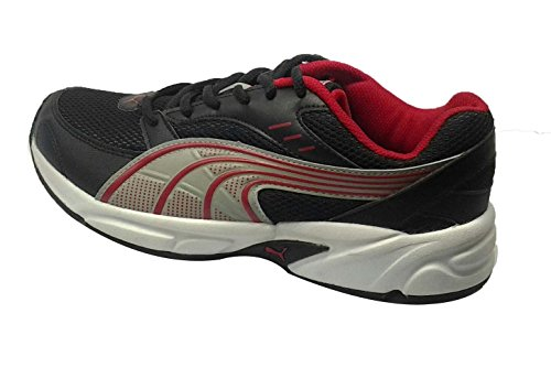 Puma Men's Black And Red Running Shoes – 18801501-7 414Wxus 2BM3L