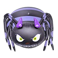 Cojoy Halloween Decoration Balloons, Inflatable Spider Shape PVC Balloons for Halloween Party Decoration