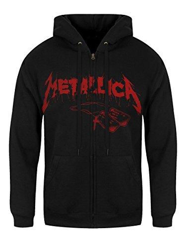 Metallica One Landmine Kapuzenjacke schwarz Schwarz
