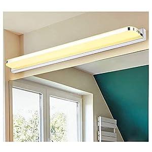 Wand Hängelampe Spot Lampe Nachttischlampe vor Dem Spiegel Schminktisch Schrank Bad Modern Simple Punch Free Licht, BOSS LV, Warmes Licht-16w