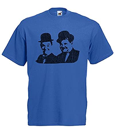 Laurel & Hardy Printed on Mens T-Shirts (XXLARGE 48