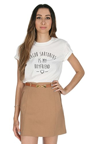Sanfran Clothing Damen T-Shirt Weiß