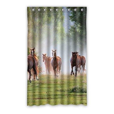 Dalliy pferd Fenstervorhang Vorhang Window Curtain Polyester 52