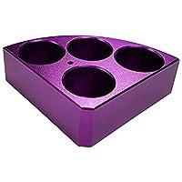 Edu-Lab 153-018 ISG - Calentador de bloque para botella de 20 ml, color morado