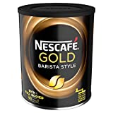 NESCAFÉ GOLD BLEND Barista Style Instant Coffee Tin, 180 g