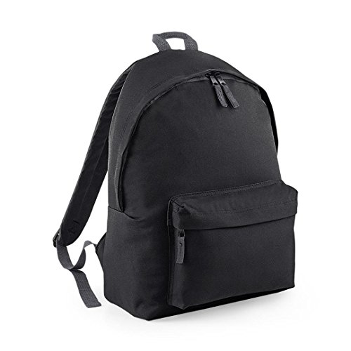 Bagbase Junior Fashion Backpack - Black