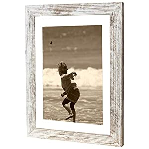 Bilderrahmen Fotorahmen 40x60 cm Vintage bilderrahmen zum aufhängen MDF Picture Frames Farbe und 40 Verschiedene Größen wählbar ohne Passepartout Rahmen Ayleen