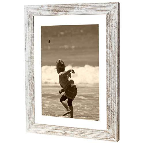 Bilderrahmen Fotorahmen 50x70 cm Vintage bilderrahmen zum aufhängen MDF Picture Frames Farbe und 40 Verschiedene Größen wählbar ohne Passepartout Rahmen Ayleen