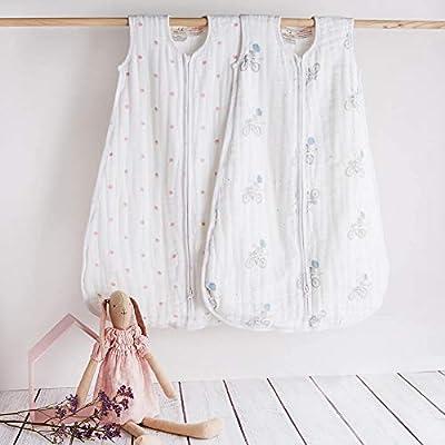 Aden + Anais Nightsky reverie elephants - Saco pijama, 6-12 meses
