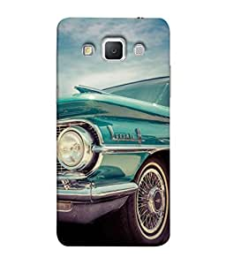 Fuson Designer Back Case Cover for Samsung Galaxy Grand Max G720 (round circle lines strips art)