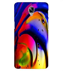 ColourCraft Beautiful Drawing Design Back Case Cover for OnePlus Three