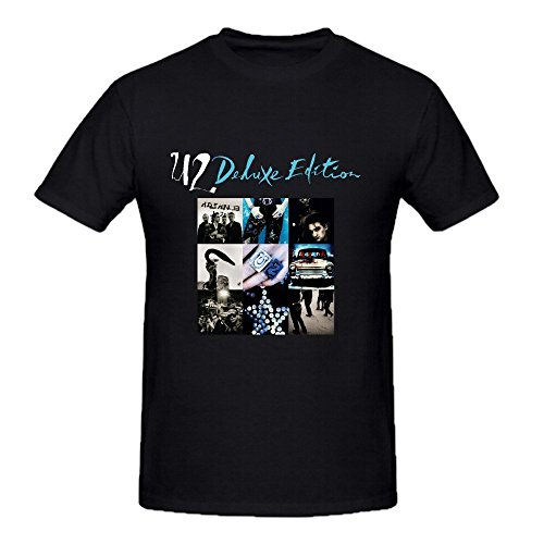 U2 Achtung Baby Deluxe Edition Tall Tee Shirts For Men