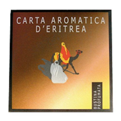 PROFUMATORE CARTA d'ERITREA DEODORANTE PER CASSETTI