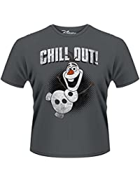 Plastic Head Frozen Olaf Chill Out - T-shirt - Homme