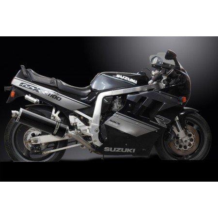 Suzuki-1100-gsxr-8990-paire-Schalldmpfer-Auspuff-Oval-Carbon-450-mm-delk