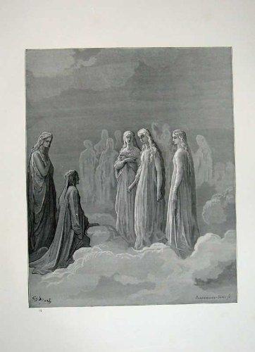 Il Paradiso 1870 di Dante della Galleria di Dore Si Appanna l'Arte di Cielo - Paradise Gallerie