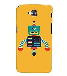 TOUCHNER (TN) Robot Back Case Cover for LG GPro Lite::LG G Pro Lite Dual D686