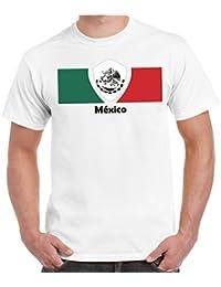 2Store24 Copa del Mundo 2018 Camiseta Hombres Copa del Mundo Fútbol Bandera  Todos los Países participantes 1b5110e281417